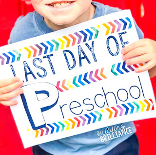 First and Last Day of School Sign FREEBIE