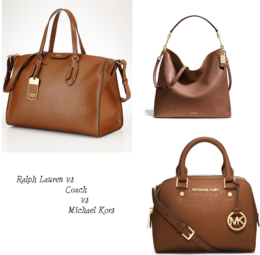 Ralph Lauren vs Coach vs Michael Kors