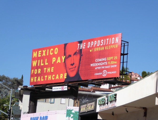 Mexico will pay healthcare Opposition billboard