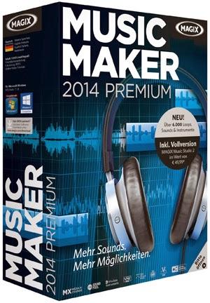 MAGIX Music Maker 2014 Premium 20 With Keys Download Full Version