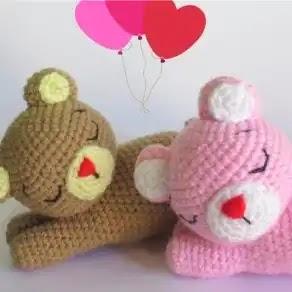 Osito Dormilón a Crochet