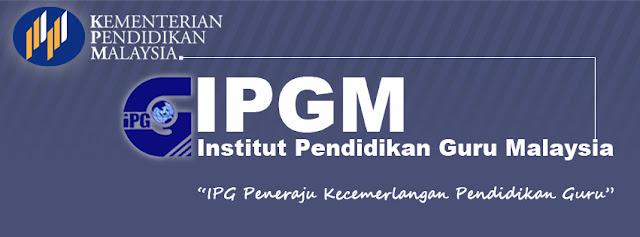 Permohonan IPG Institut Pendidikan Guru 2016