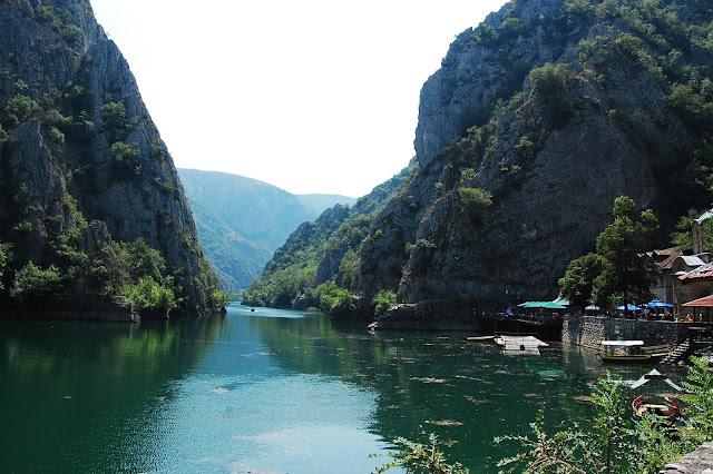 Canionul Matka, Macedonia