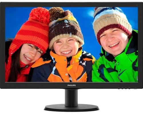 O monitor Philips 243V5QHABA une recursos inteligentes e qualidade de imagem