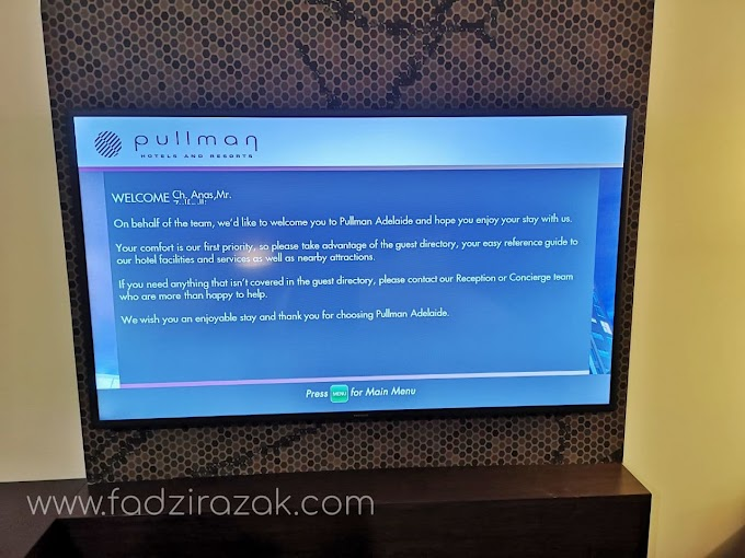 Pullman Hotel Adelaide - Kuarantin Mandatori 14 Hari