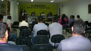 Câmara de Baraúna aprova reajuste salarial para Agente Administrativo, Motorista e Pedreiro