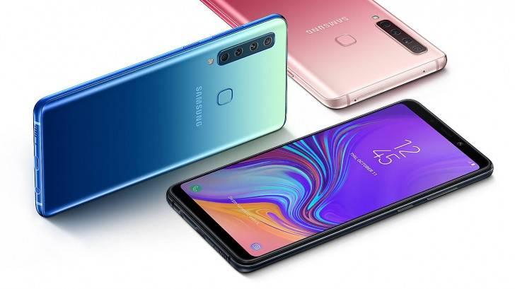 Samsung Galaxy A9 Smartphone Pertama di Dunia dengan 4 Kamera Belakang (gsmarena.com)