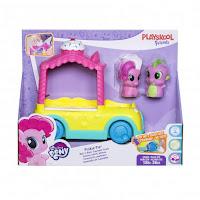 MLP Playskool Friends Cupcake Truck With Pinkie Pie & Spike