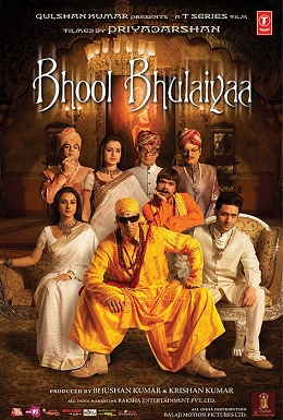 Bhool Bhulaiya- Top Hindi Comedy Movies to watch on Njkinny's Blog