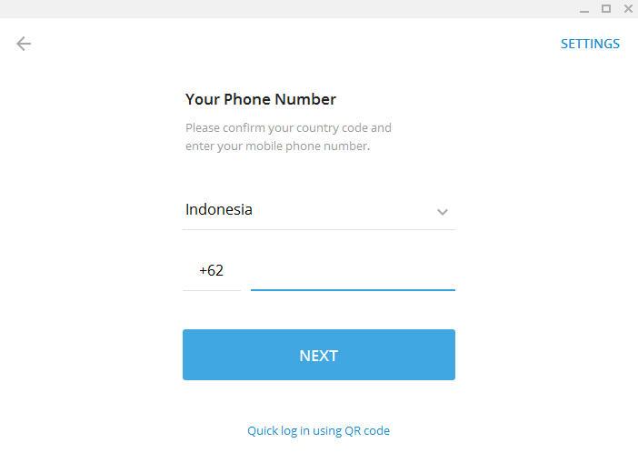 Cara Menggunakan Telegram di Desktop