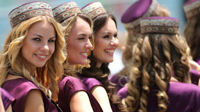 Baku Circuit F1' grid girls