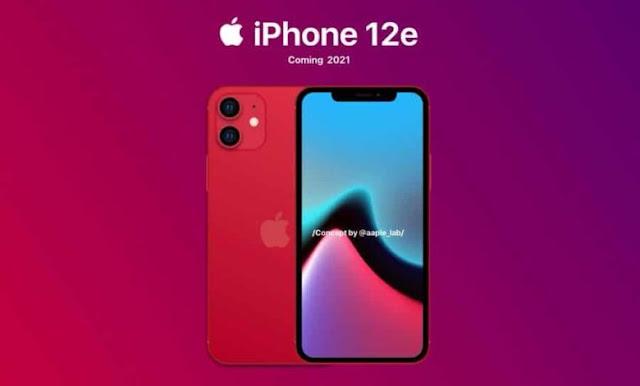 ابل تنوي إطلاق هاتف إقتصادي بإسم ايفون 12 أي iPhone 12e في 2021