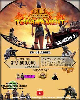 Tournamen pubg mobile season 2 , tencent ,