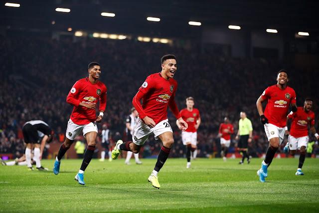 Video Cuplikan Gol: Manchester United 4-1 Newcastle United (Premier League)