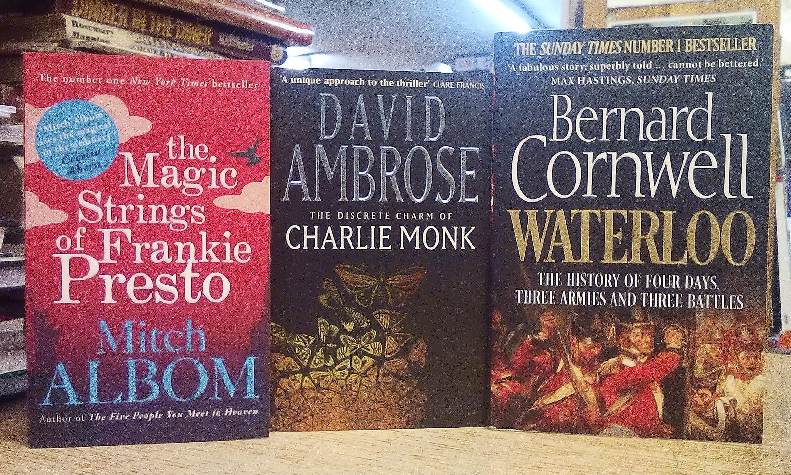 the discrete charm of charlie monk ambrose david