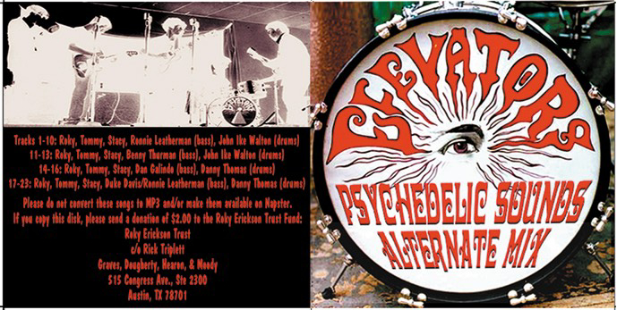 Texas psych psychedelic music 13th floor elevators for 13th floor dallas address