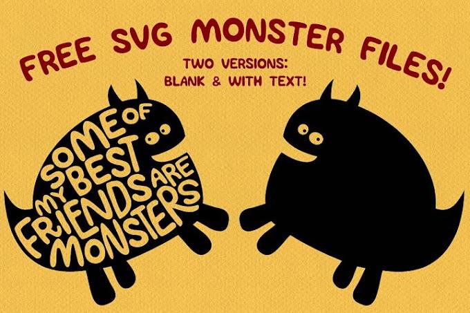 FREE Monster SVGs