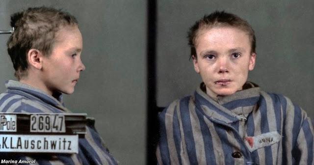 Последние фотографии 14-летней польской девочки в Освенциме, которые разобьют ваше сердце