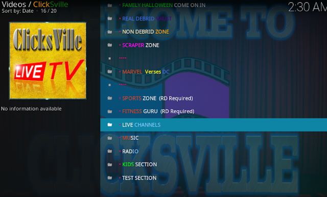 kodi-clicksville-addon-main-category