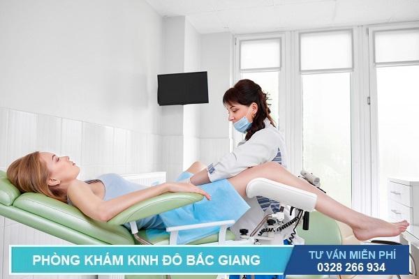 Khám phụ khoa ở Bắc Giang