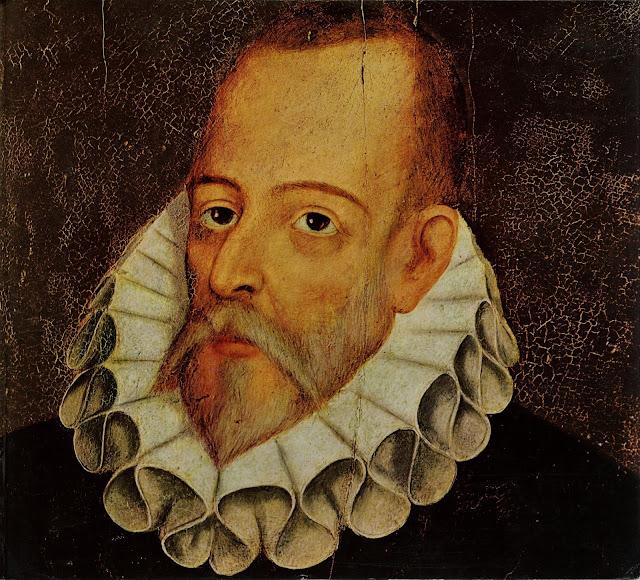 Celebrando a Miguel de Cervantes. Hoy, con