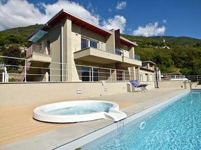 Озеро Комо апартаменты с бассейном