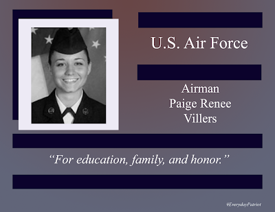A short biopic on U.S. Air Force Airman Paige Renee Villars - War on Terror