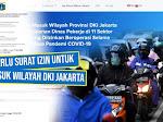 Cara Mengurus Surat Izin Keluar Masuk (SIKM) Wilayah DKI Jakarta Selama Masa Pandemi COVID-19