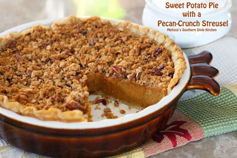 Sweet Potato Casserole With A Gingersnap Pecan Coconut Crust ...