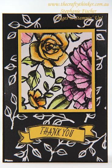 #thecraftythinker, #SDBH, #cardmaking, #stampinup, sneak peek, Petal Passion, Colouring techniques, Stampin' Dreams Blog Hop, Stampin' Up Australia Demonstrator, Stephanie Fischer, Sydney NSW