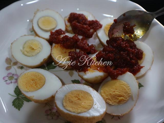 Sambal Telur Rebus Sedap