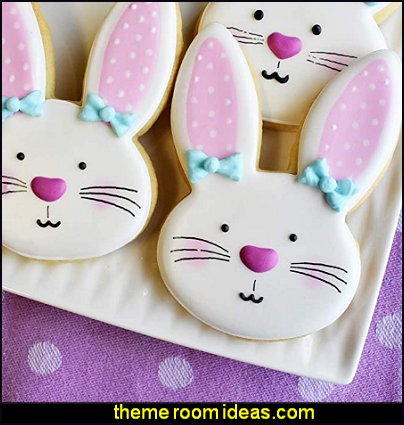 bunny cookie cutter rabbit cookie cutter Ann Clark Cookie Cutters Bunny Face Cookie Cutter