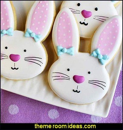bunny cookie cutter rabbit cookie cutter Ann Clark Cookie Cutters Bunny Face Cookie Cutter