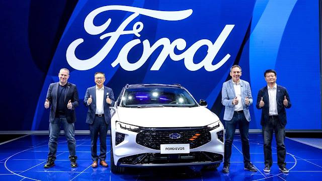 فورد إيفوس  السيارة الرياضية متعددة الاستخدامات الجديدة كلياً
