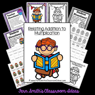 https://www.teacherspayteachers.com/Product/Relate-Addition-to-Multiplication-Quick-and-Easy-Center-Printables-No-CCSS-1472027
