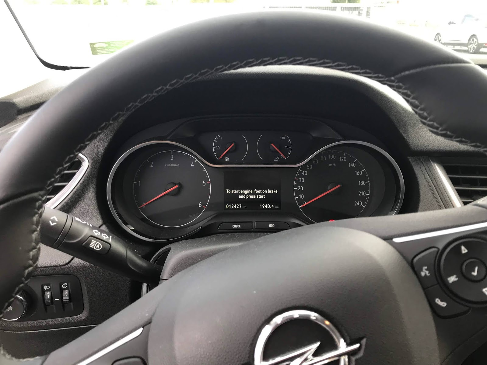 Opel Grandland X meter