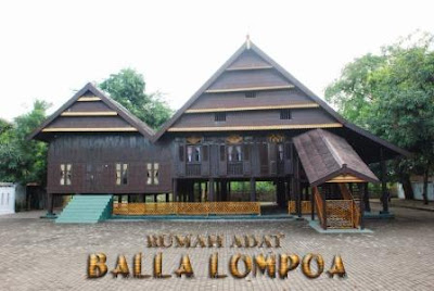 Rumah Adat Balla Lompoa