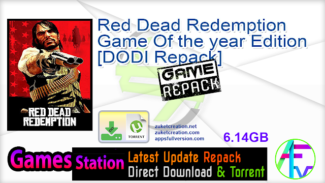 Red Dead Redemption Game Of the year Edition – [DODI Repack]