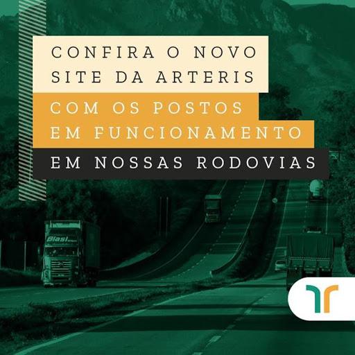 Caminhoneiros encontram informações atualizadas sobre postos de serviços no site da Arteris