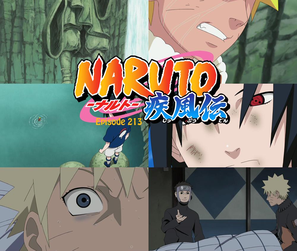 New Anime Capture: Naruto Shippuden - Episode 213 - Lost Bonds