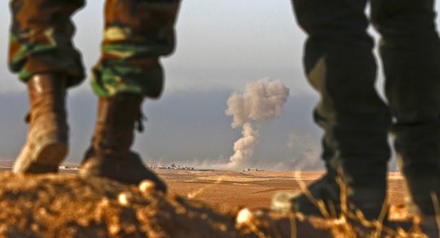 Bashiqa, a nordeste de Mosul, está agora sob controle Peshmerga