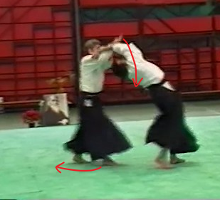 ushiro kiri otoshi Yasunari Kitaura