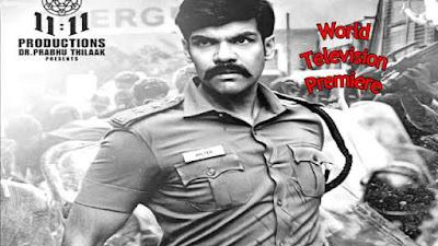 Walter Telugu Dubbed Movie World Television Premiere