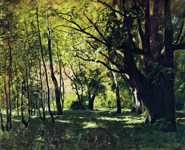 Исаак Ильич Левитан - В парке. 1895