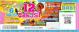 Kerala Thiruvonam Bumper BR 81 Ticket 2021 Result of Onam Bumper Keralalotteries.net