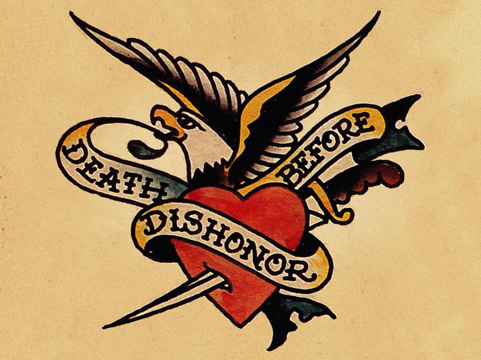 Harley Davidson Eagle Tattoo Designs