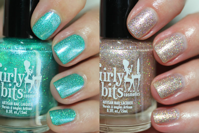 Girly Bits Cosmetics CoTM July 2017 Mermaid of Honour and Sand of a Beach