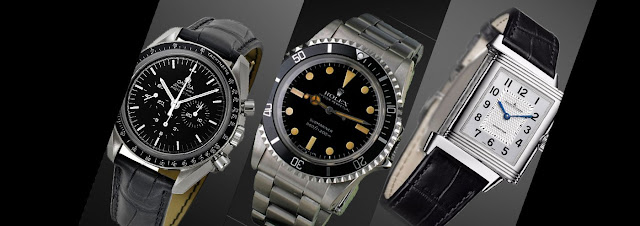 Omega, Cartier, and Rolex