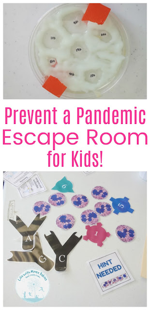 Kids Prevent a Pandemic in this Free Escape Room