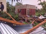 Angin Kencang Landa Tanah Datar, Dua Warga Meninggal Disambar Petir, Atap Rumah Terbang